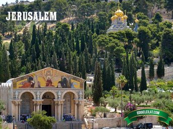 Map of Jerusalem with Photos - Old City Attractions