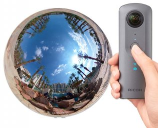 Best 360 Degree Camera - Ricoh Theta V