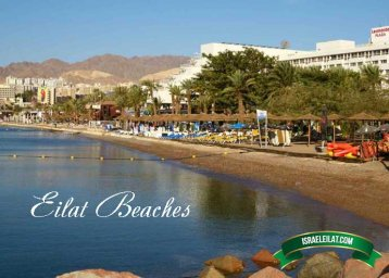 Map of Eilat beaches with Photos and Video